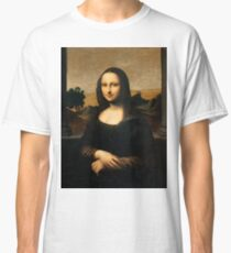 Mona Lisa - The Isleworth -Top Resolution Classic T-Shirt