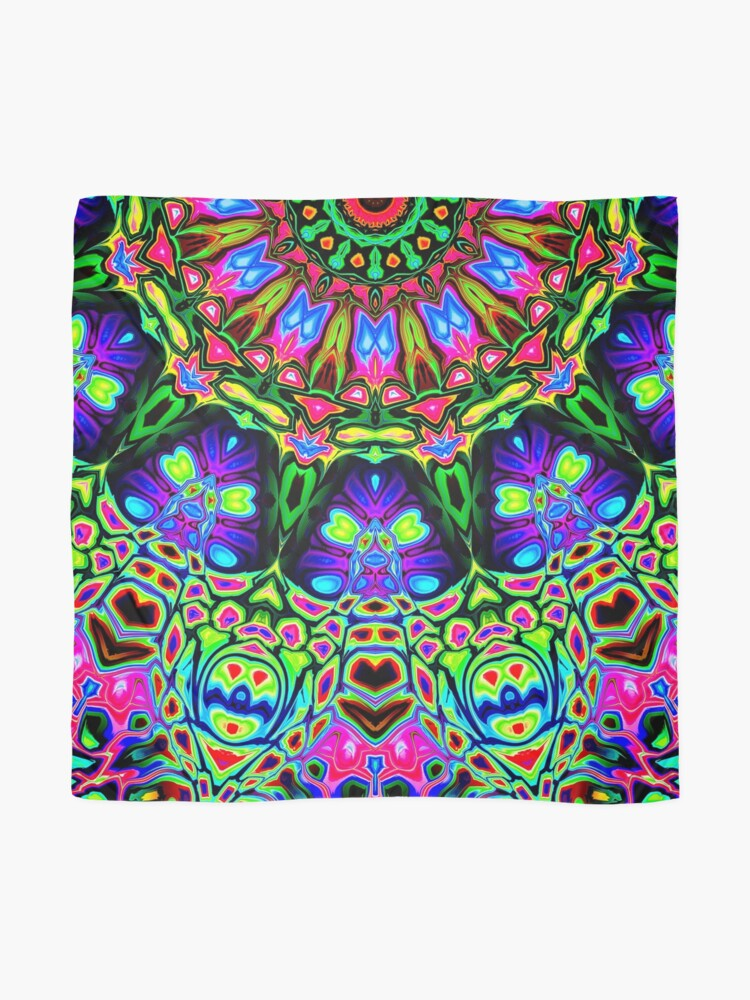 Alternate view of Abstract Decorative Pattern Scarf