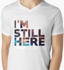 I'm Still Here - Treasure Planet Men's V-Neck T-Shirt