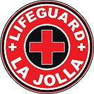 LIFEGUARD LA JOLLA SURFING CALIFORNIA SURFER BEACH SURFBOARD by MyHandmadeSigns