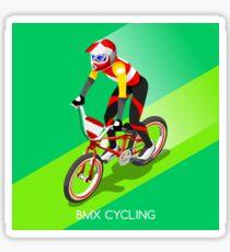 Cyclist BMX bicycle biker Sticker