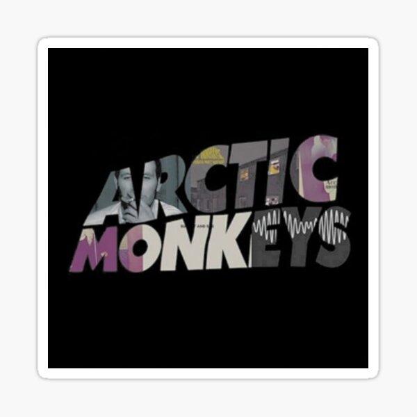 Black Monkey Top Sticker