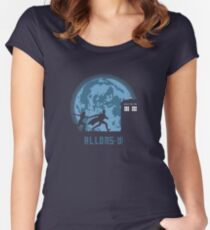 "Doctor Who ""Allons-y"" 10th Doctor Women's Fitted Scoop T-Shirt"