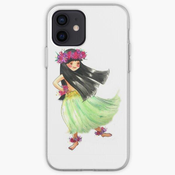 Hula Girl iPhone Soft Case