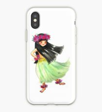 Hula Girl iPhone Case