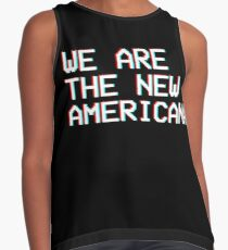 WE ARE THE NEW AMERICANA // HALSEY  Contrast Tank
