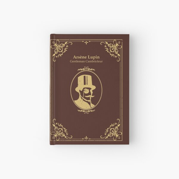 arsene lupin gentleman cambrioleur book cover Hardcover Journal