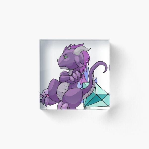 Chibi Tyson from Minerva Howe's Dragon Hoard series Acrylic Block