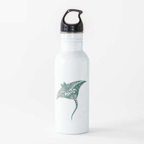 Manta Ray Mandala Design Water Bottle