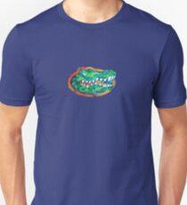 Florida Gator Head Tie Dye Unisex T-Shirt