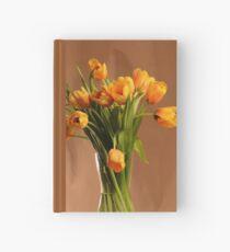 Yellow tulips Hardcover Journal