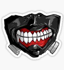 Ken Kaneki Tokyo Ghoul Mask Sticker