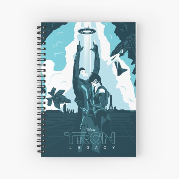 Tron Legacy Spiral Notebook