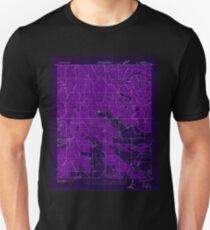 USGS TOPO Map Alabama AL Mud Creek 304634 1936 24000 Inverted Unisex T-Shirt