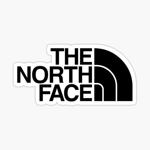 la face nord Sticker