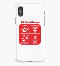 Elf Food Groups iPhone Case/Skin