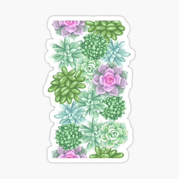 IT'S A SUCCULENT REG   Crazy Plant Lady Botanicals  Sticker