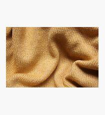 Yellow Knit Photographic Print