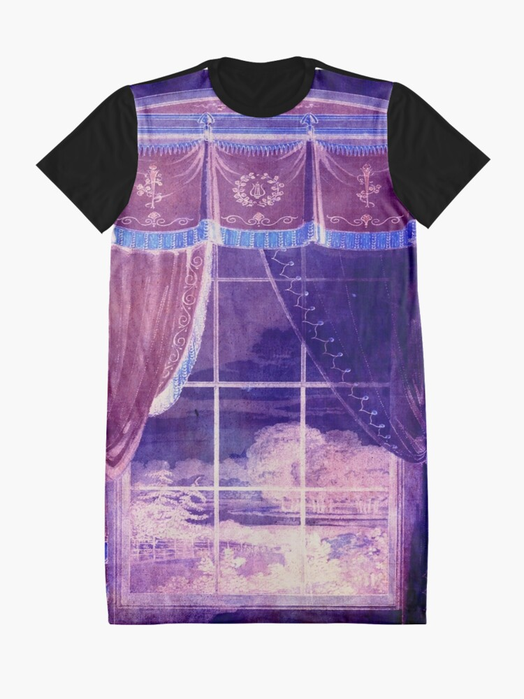 Alternate view of Waiting for the Dawn Graphic T-Shirt Dress