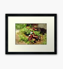 Many Memories Framed Print