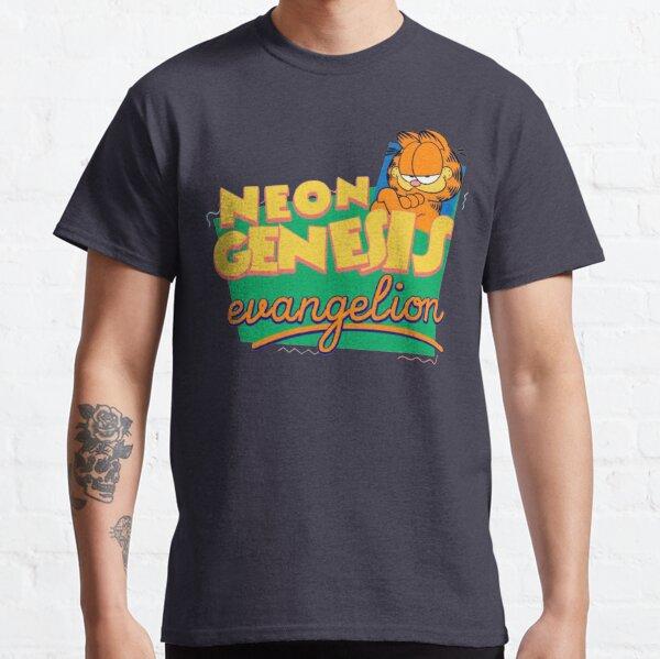 Neon Genesis Evangelion Garfield T-shirt classique