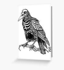 Skelecrow Greeting Card