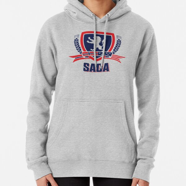 SAGA Official Merchandise  Pullover Hoodie