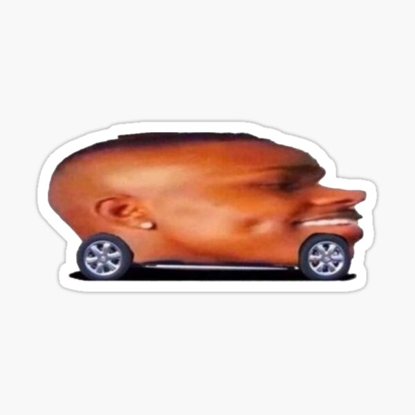 DaBaby Convertible Sticker