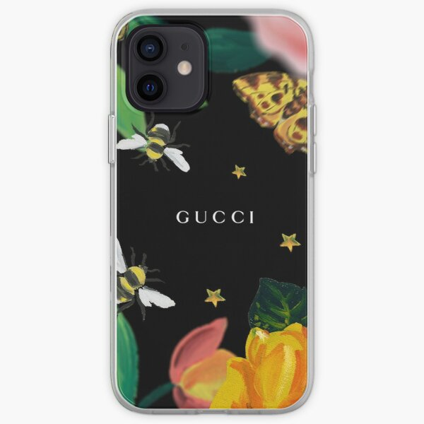 jardin fleuri animal Coque souple iPhone