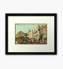 Black Crown Hotel - Outdoor Framed Print