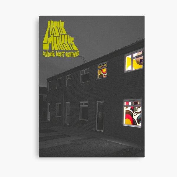 Windows to night Canvas Print