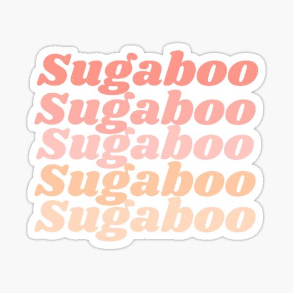 SUGABOO |Dua Lipa Sticker