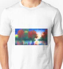 Rippled Sunset Unisex T-Shirt
