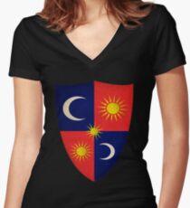 House Tarth Sigil Women's Fitted V-Neck T-Shirt