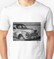 1949 Buick Eight Super I BW Unisex T-Shirt