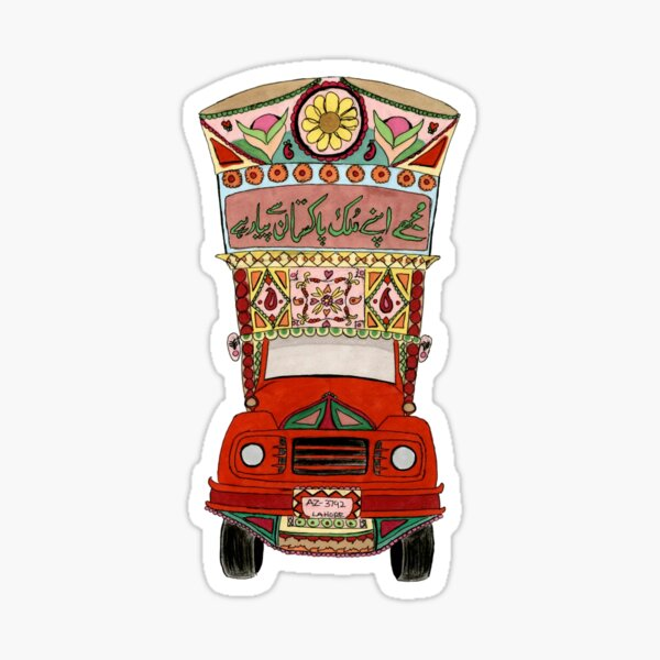 Pakistani Truck Sticker
