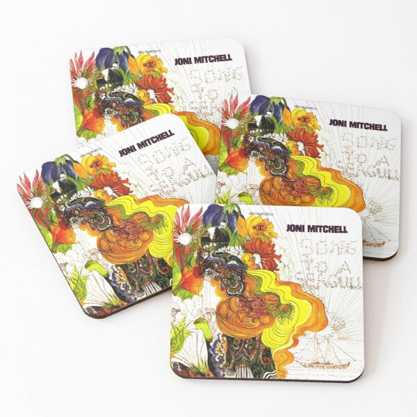 Albums Stereo Coasters (Set of 4)