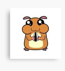 Cartoon Hamster Canvas Print