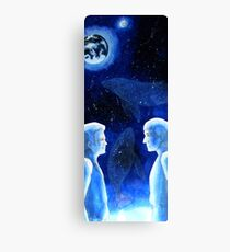 Space whales Canvas Print