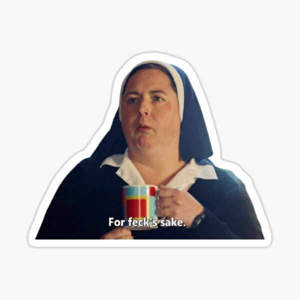 sister michael derry girls Sticker