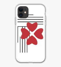 Little Red Blossom iPhone Case