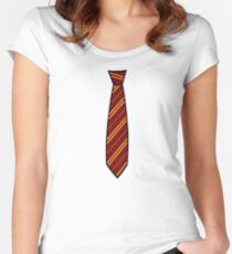 Potter-Tie Women's Fitted Scoop T-Shirt