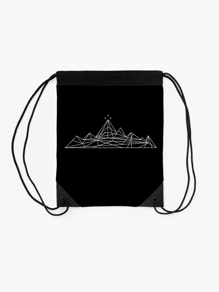 Alternate view of The Night Court Drawstring Bag