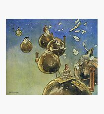 Fairy Tale Art - Seven Sisters by William M Timlin Photographic Print
