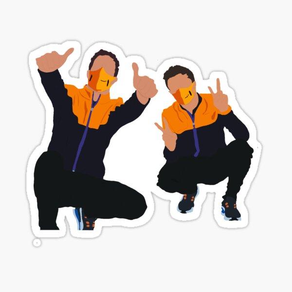 Strike a pose Sticker