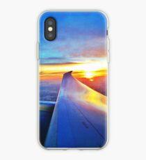 United Airlines 787 sunrise  iPhone Case