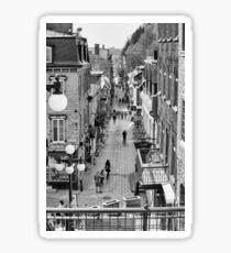 Rue du Petit Champlain Sticker