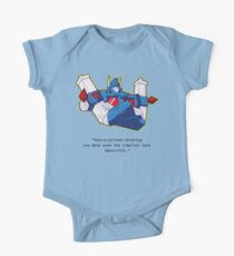 Ultra Magnus - quote (larger text) Kids Clothes