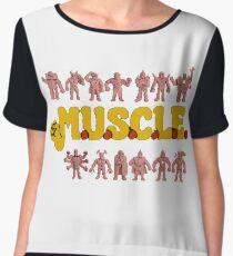 M.U.S.C.L.E Muscleman Muscle men Chiffon Top