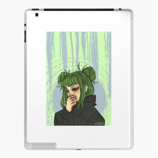 Green girl 2.0 iPad Skin